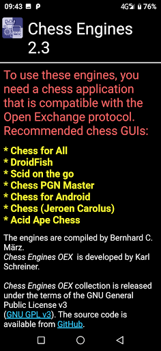 Chess Engines OEX android2mod screenshots 2