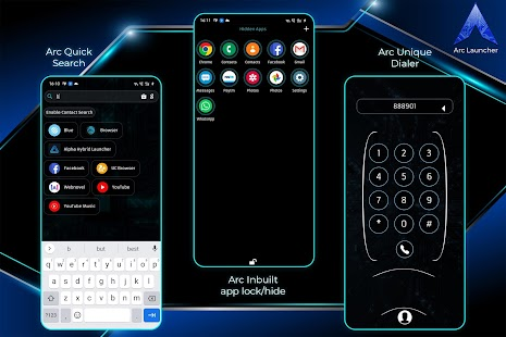 ARC Launcher® Pro💎 2021 Themes,DIY,Wallpaper,FAST Screenshot