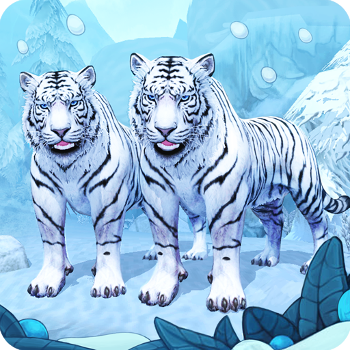 White Tiger Family Sim Online - Animal Simulator
