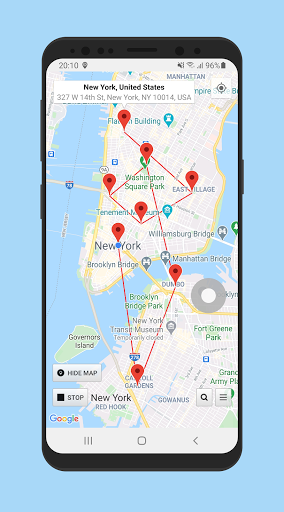 Location Changer (Fake GPS Location with Joystick) 2.87 screenshots 1