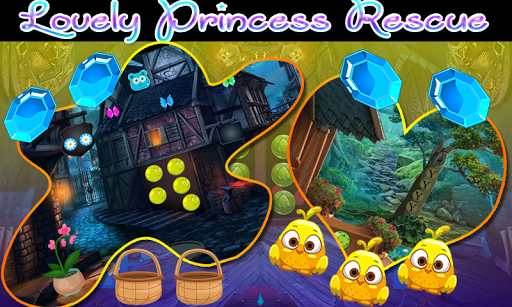 best escape games 36 lovely princess rescue game screenshot 2