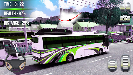 Heavy Bus Simulator 2021:Offroad Cargo Bus Drive  screenshots 3
