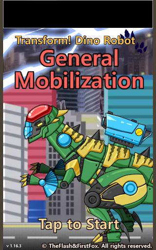 Transform Dino Robot - General Mobilization 1.29.0 screenshots 6