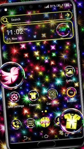 Shine Fireworks Launcher Theme hack tool
