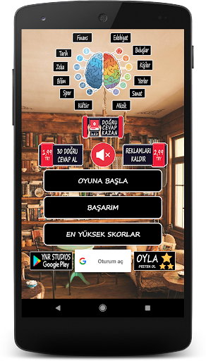 Bilgi Yaru0131u015fmasu0131 - Zeka Oyunu screenshots 1