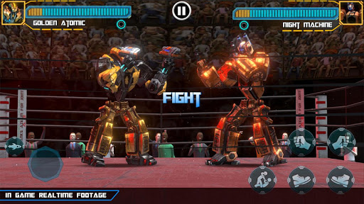 Real Robot Ring Boxing screenshots 1