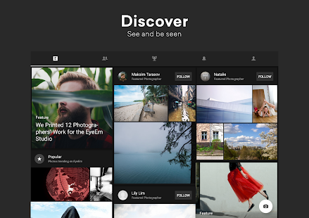 EyeEm: Free Photo App For Sharing & Selling Images Screenshot