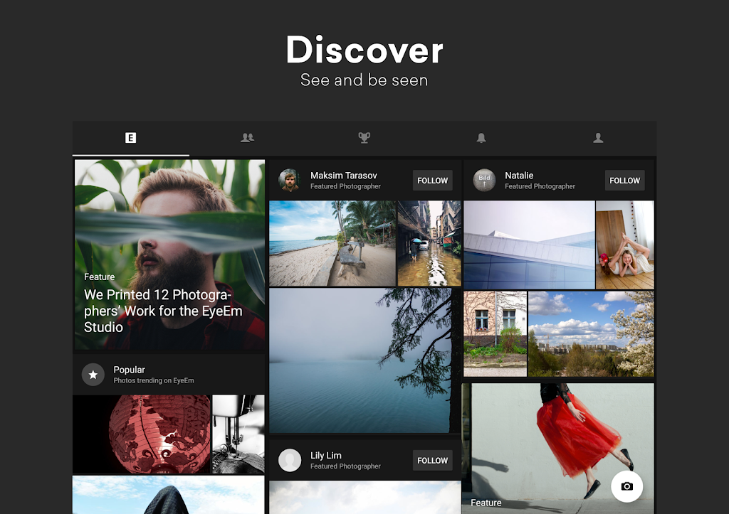 EyeEm: Free Photo App For Sharing & Selling Images  poster 6