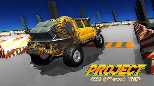 Project 4x4 Offroad: Offroad Xtreme Rally Project  screenshots 1