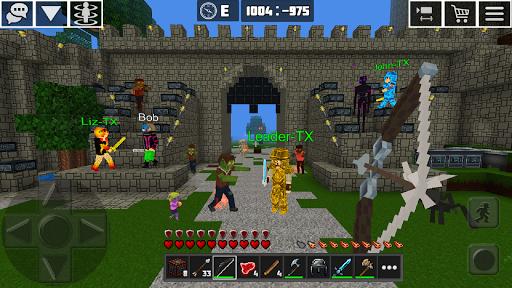 Multicraft: Block Craft Mini World 3D Apkfinish screenshots 3