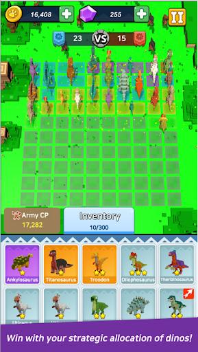 Dino Warfare : Rush! Dino Army Apkfinish screenshots 3