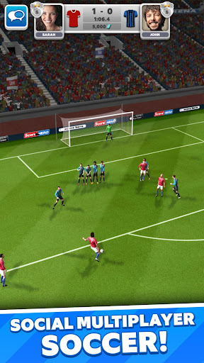 Score! Match - PvP Soccer apktram screenshots 2