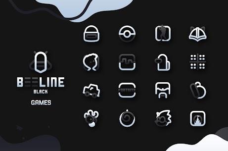 BeeLine Black IconPack Apk Download [PAID] 5