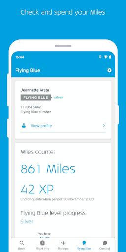 KLM u2013 Book flights and manage your trip screenshots 6