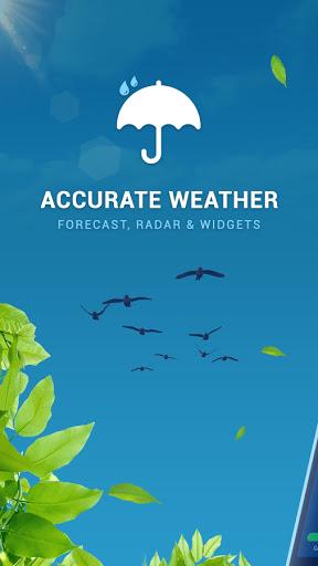 Accurate Weather : Weather Radar Live & Alerts  screenshots 1