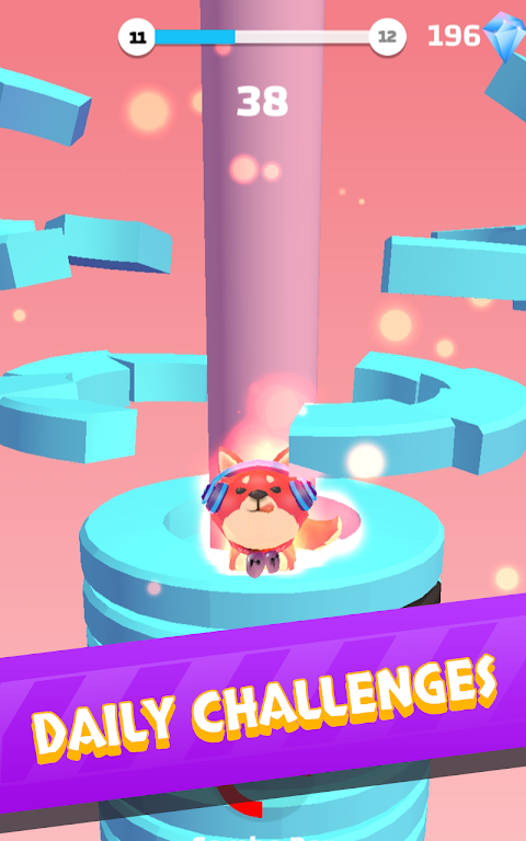 Helix Stack Jump: Fun & Free Addicting Ball Puzzle poster 4