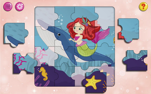 Kids Puzzles Game for Girls & Boys android2mod screenshots 4