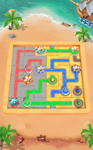 Flow Water Connect Puzzle  screenshots 21