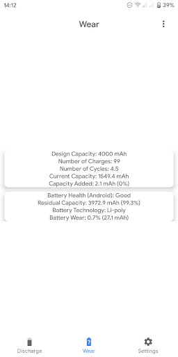 Capacity Info: Find out battery wear apktram screenshots 3