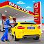 Gas Station Car Driving Simulator Car Parking Game