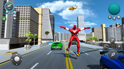 Miami Robot Spider Hero: City Gangster Games 2021 screenshots 7