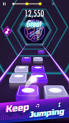 Music Magic Tiles & EDM Rush Ball - Tiles Hop apklade screenshots 2