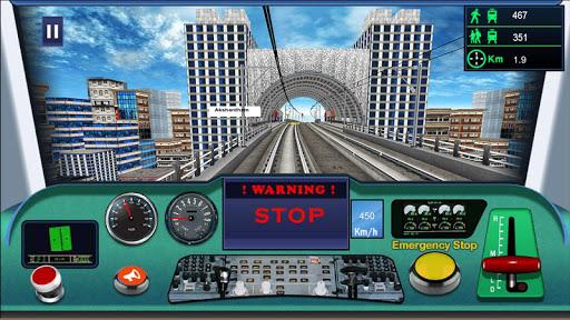 Indian metro train simulator  screenshots 2