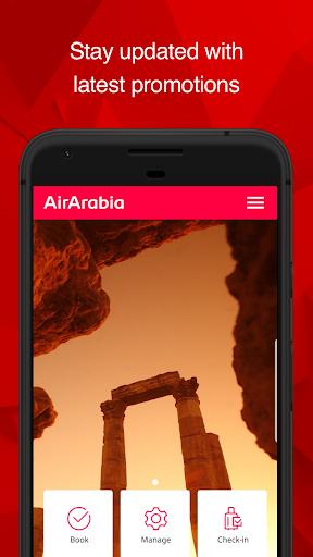 Air Arabia (official app) 6.1.0 Screenshots 1