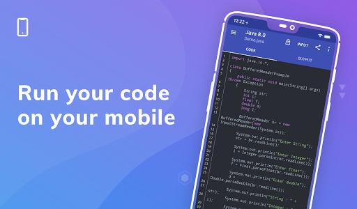 Online Compiler - Code on Mobile apktram screenshots 1