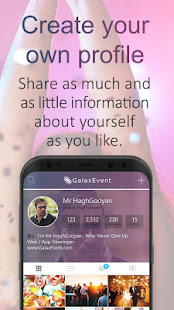 Galax Event - Create & find Events