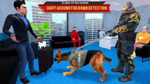 US Army Spy Dog Training Simulator Games  screenshots 2