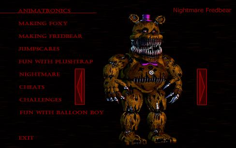 Five Nights at Freddys 4 Hileli Apk Güncel 2021** 24