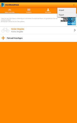 Fahrradpass  screenshots 7