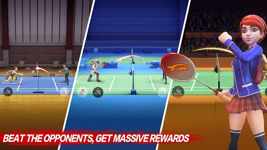 Badminton Blitz – Free PVP Online Sports Game Apk Mod + OBB/Data for Android. 6