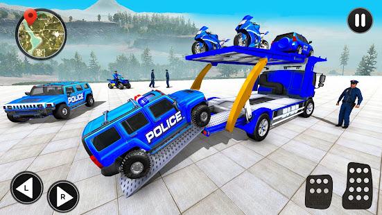 Grand Police Prado Car Transport 3.6 Screenshots 2