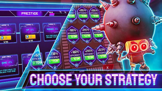 Cyber Fusion Mod Apk- Idle Merge Defense (Unlimited Money) 9