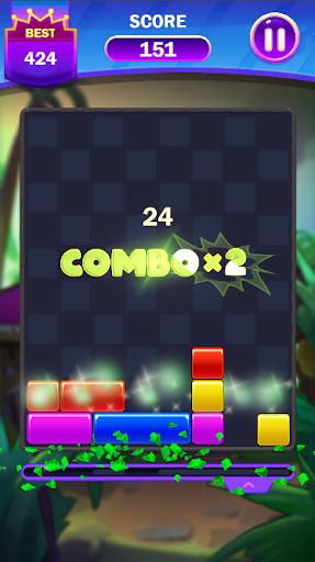 Code Triche Falling Puzzle - Funny Falling Block (Astuce) APK MOD screenshots 3