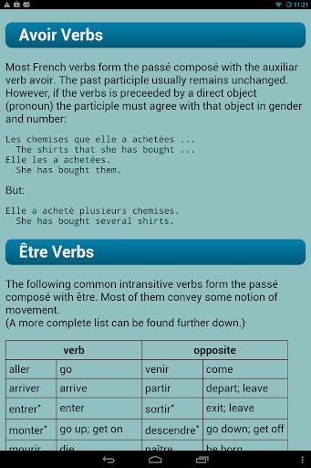 French Verbs  screenshots 11
