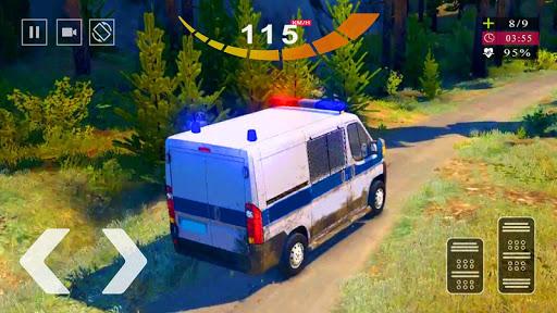 Police Van Gangster Chase - Police Bus Games 2020  screenshots 4