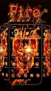 Fire Skull Theme  For Pc (Download On Windows 7/8/10/ And Mac) 1