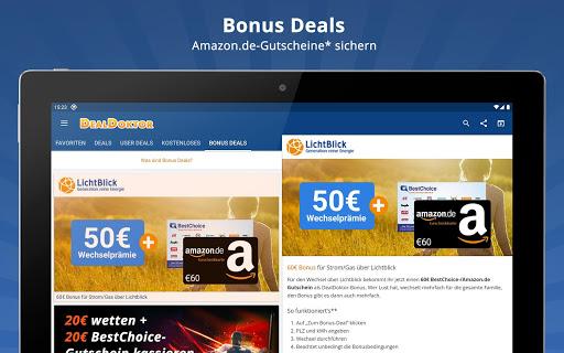 DealDoktor » Schnäppchen, Kostenloses, Gutscheine  screenshots 9