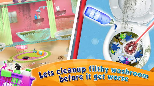 Girl House Cleaning: Messy Home Cleanup screenshots 10