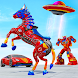 Horse Robot Car Game – Space Robot Transform Wars