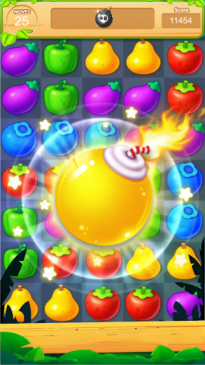 sweet fruits candy screenshot 2