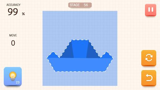 Paper Folding Puzzle  screenshots 2