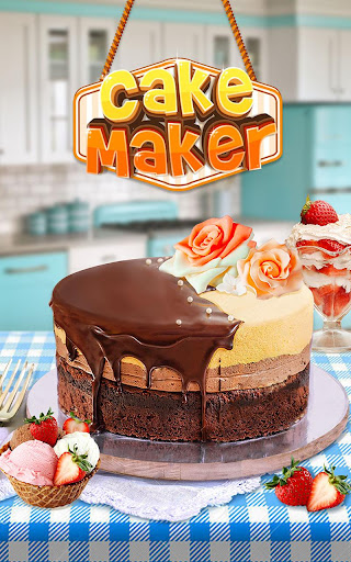 cake: fun free food making game screenshot 1