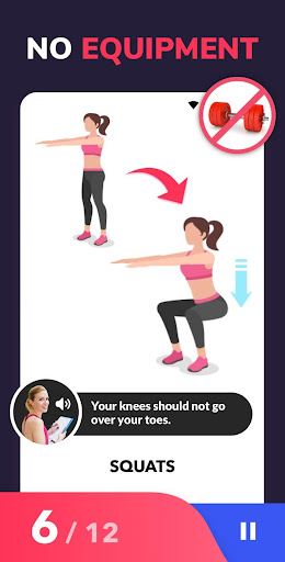Lose Weight App for Women - Workout at Home 1.0.22 screenshots 2