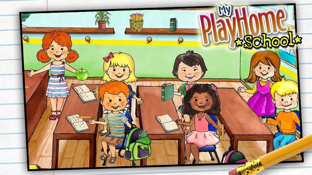 My PlayHome School  poster 1