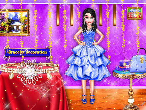 Wedding Stylist Dress up and Makeup Salon android2mod screenshots 8