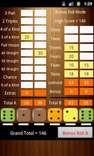 Six Dice 1.18 screenshots 2